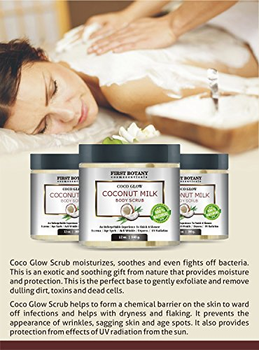 100-Natural-Coconut-Milk-Body-Polish-12-oz-With-Dead-Sea-Salt-and-Vitamin-E-Powerful-Body-Scrub-Exfoliator-and-Daily-Moisturizer-For-All-Skin-Types-0-1