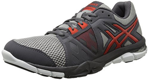 ASICS Men's Gel Craze TR 3 Training Shoe, Dark Grey/Orange/Black, 7 M US