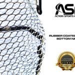 ActionSports-Fishing-Net-4in1-Rubber-Coated-Netting-Magnetic-Quick-Release-Cork-Handle-Safety-Lanyard-Trout-Fishing-Net-Kayak-Fishing-Net-Fly-Fishing-Nets-Lifetime-Guarantee-0-2