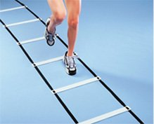 Agility Squares and Flat Rungs