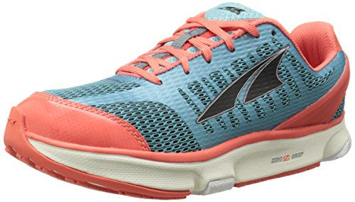 Altra Running Womens Provisioness 2 Running Shoe, Blue/Coral, 9.5 M US