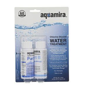 Aquamira – Chlorine Dioxide Water Treatment Two Part Liquid – 2 oz Bottles For Larger Storage Treatment