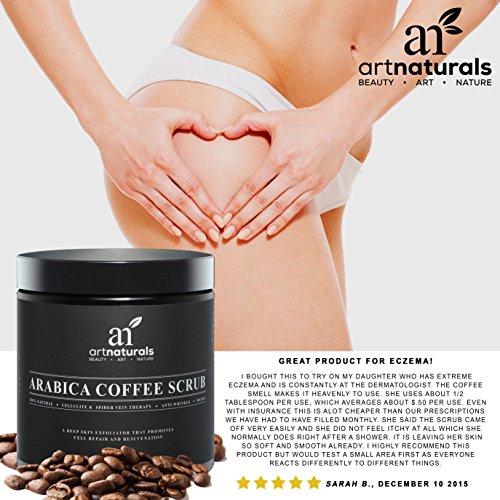 Arabica Coffee Scrub For Stretch Marks