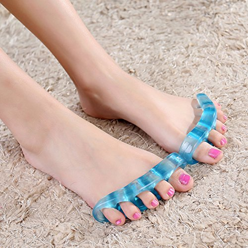 BESKIT-Toe-Stretchers-2-Pcs-Sport-Stretchers-for-Any-Exercise-Regimen-or-Your-Yoga-Practice-Quick-Pain-Relief-for-Bunion-Plantar-Fasciitis-and-Feet-for-Dancers-AthletesYoga-Small-0