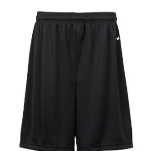 Badger Sportswear Men's B-Dry Performance Short, Black, Medium