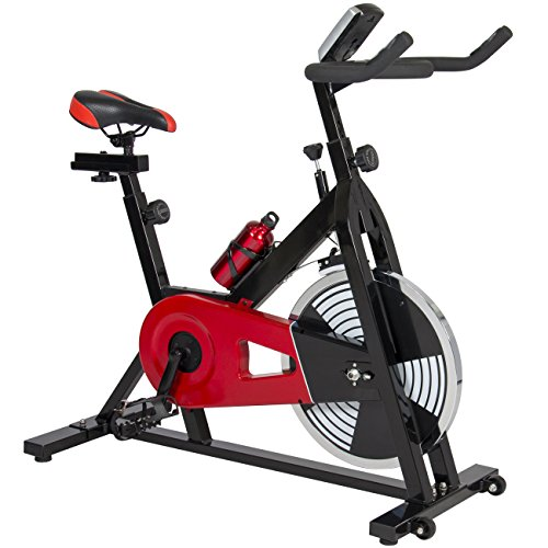 Best-Choice-Products-Exercise-Bike-Health-Fitness-Indoor-Cycling-Bicycle-Cardio-Workout-W-LCD-Screen-0