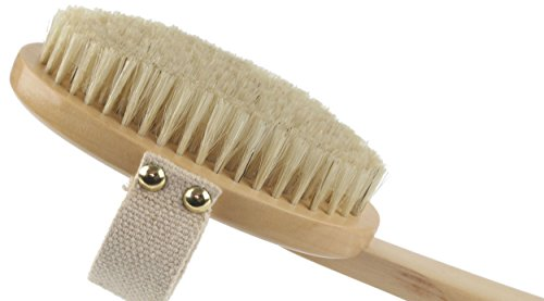 Best-Dry-Body-Brush-Wet-Exfoliating-Set-for-Effective-Skin-Exfoliation-Lymphatic-Drainage-Reduce-Cellulite-Improve-Circulation-Bonus-Shower-Gloves-Body-Brushing-Detox-Guide-Great-GIFT-0-6