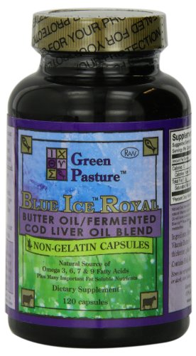 Blue-Ice-Royal-Butter-Oil-Fermented-Cod-Liver-Oil-Blend-120-Capsules-0
