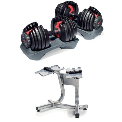 Bowflex-SelectTech-552-Adjustable-Dumbbells-Pair-and-Stand-0