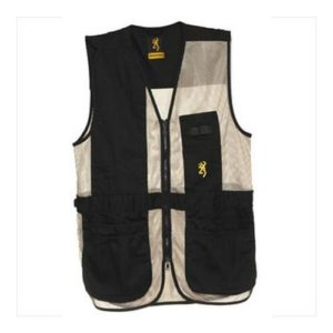 Browning Trapper Creek Vest, Black/Tan, 3X-Large