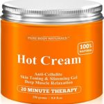 Cellulite-Cream-Muscle-Relaxation-Cream-Huge-88oz-100-Natural-87-Organic-Cellulite-Cream-Treatment-Hot-Gel-Firms-Skin-Muscle-Rub-Cream-Muscle-Massager-0
