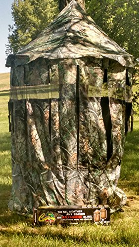 Chameleon Bow Blind – THE ALL WEATHER, ALL SEASON BLIND Generation 2