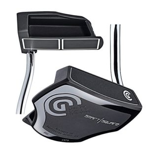 Cleveland Golf Men's Smart Square Heel Shafted Mallet Putter, Black, Right, 33-Inch
