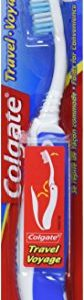 Colgate Travel Toothbrush, Soft – Colors may Vary (6 Pack)