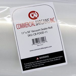 Commercial-Bargains-2-Pack-11-x-50-and-8-x-50-Commercial-Vacuum-Sealer-Saver-Rolls-Food-Storage-0-5