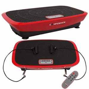 Confidence Fitness Confidence Vibeslim Vibration Trainer Red