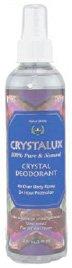 Crystal Deodorant Spray Crystalux 4 oz Liquid