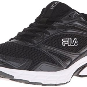 Fila Men's Royalty-m Running Shoe, Black/Castlerock/White, 11 M US