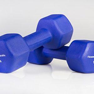 Fitness-Republic-Neoprene-Dumbbell-5-Pairs-Set-3lb5lb8lb10lb-12lb-0-3