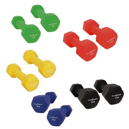 Fitness-Republic-Neoprene-Dumbbell-5-Pairs-Set-3lb5lb8lb10lb-12lb-0